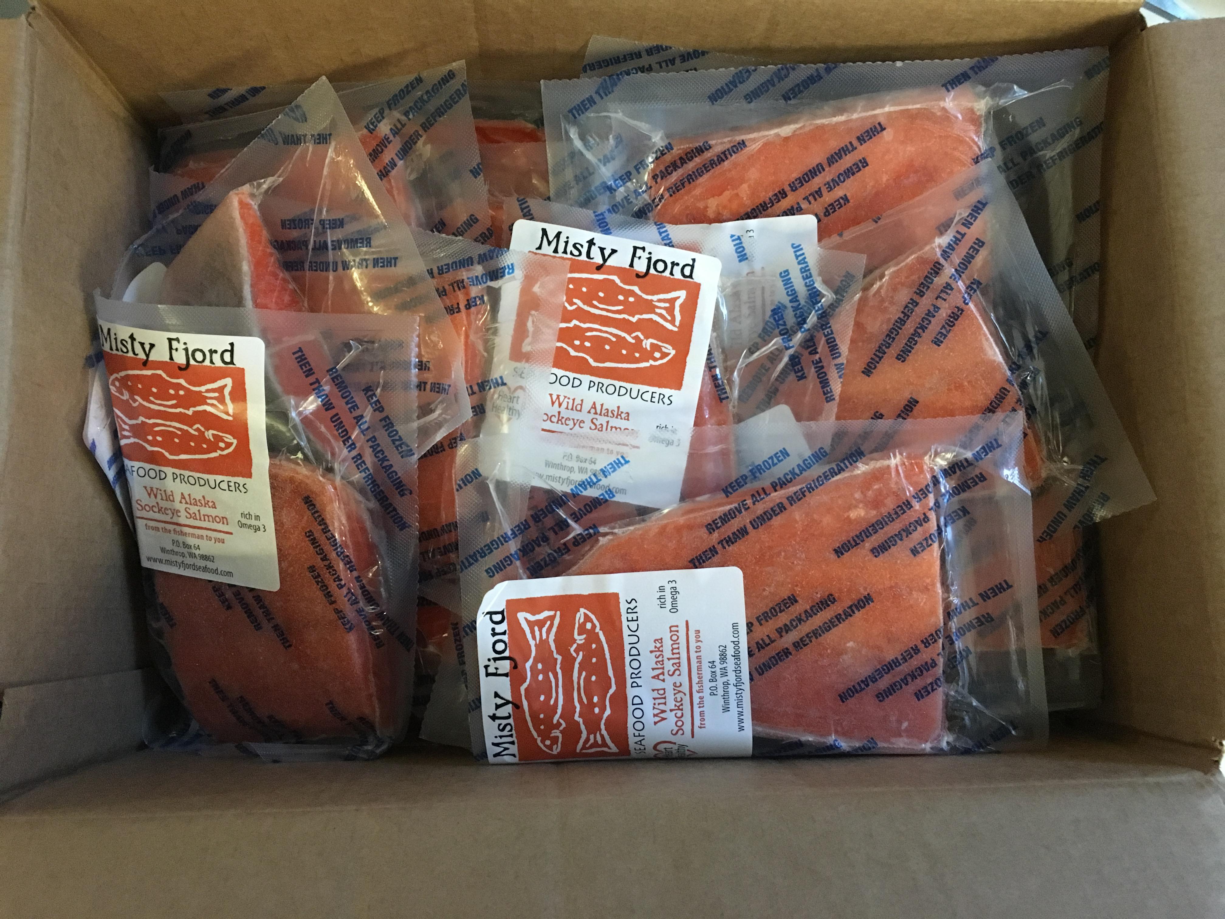 wild salmon delivery companies