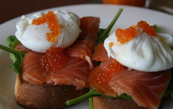 canned smoked salmon